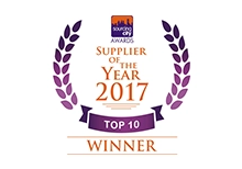 Supplier of the Year 2017, Top 10 Winner